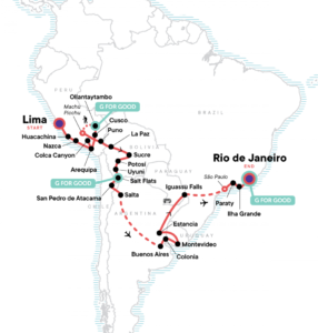 Best Guided Tours and Itineraries for South America (Multi-Day)