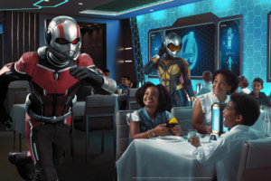 Disney's Newest Cruise Ship Will Feature an Epic Marvel-themed Dining Experience