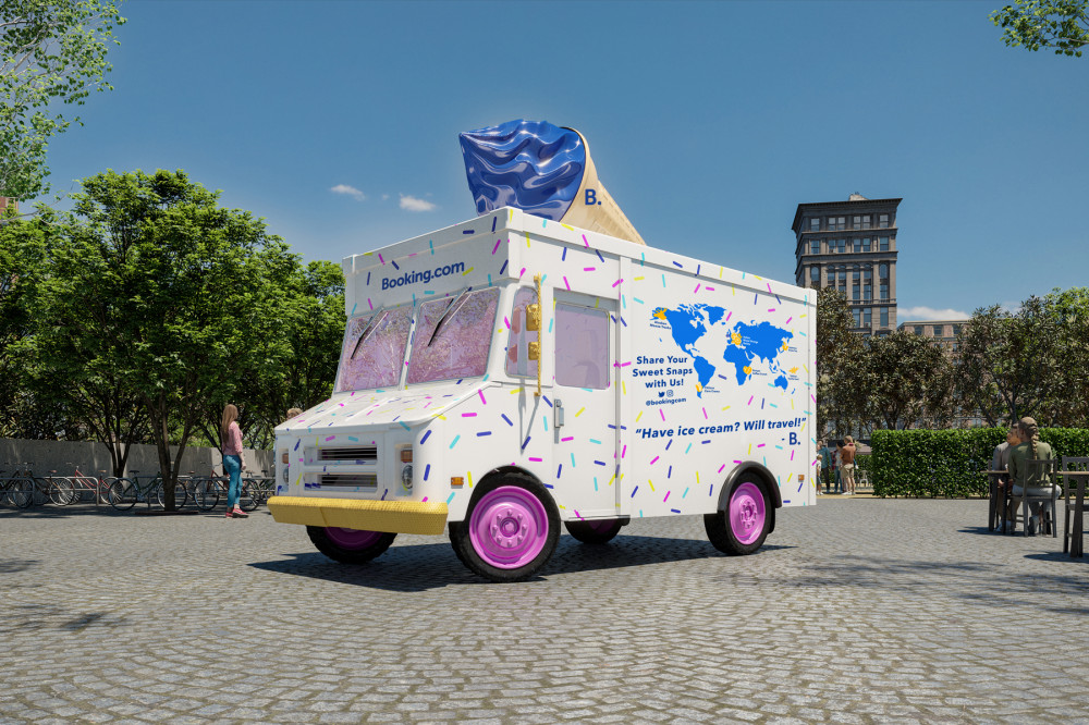 You Can Have a Sleepover in a Real-life Ice Cream Truck