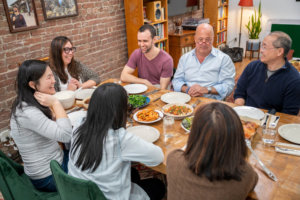 TV Chef Andrew Zimmern on Why He's Crashing Family Dinners for His New Show